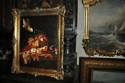 Vintage Still Life Painting Museum Quality By J. Clark