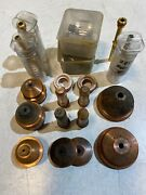Lot Of 19 Hypertherm Plasma Cutter Tips / Nozzles / Electrodes Used Rings Tubes