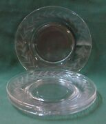 Fostoria Holly Salad Plates Sets Of Four More Items Available Nice