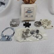 New Water Pump Impeller Kit Whousing Johnson/evinrude 20 25 30 35hp 80up 0393630