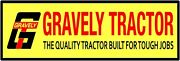 Gravely Tractors Marquee Style New Metal Sign 6 X 18 Long - Ships Free