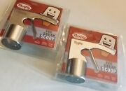 New Thrifty Rite Aid Lot Of 2 Vintage Ice Cream Scoop Gift Of 2019 New Silver