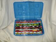 50 Vintage Wood Pencils And Case Toy Story Cars Scooby Doo Etc Holidays New Dl24