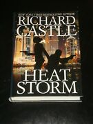 Heat Storm By Richard Castle Hardcover 2017 First Edition Mystery Thriller