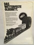 G-scale Train Garden Railway Track Road Bed Product For Lgb Paper Flyer Vintage