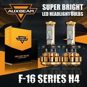 Auxbeam H4 Hb2 9003 High Low Motorcycle Led Headlight Bulbs Kit Xenon 50w 5000lm
