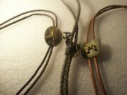 3 Used Menand039s Bolo Ties