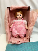 Vintage Madame Alexander Rare 18 Baby Puddin 1960's Doll Not Played With In Box