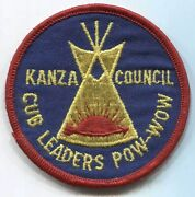 Bsa Kanza Council Cub Learders Pow-wow Arrow Of Light Tipi Scout Patch