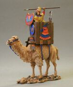 Painted Tin Toy Soldier Battle Camel 54mm 1/32