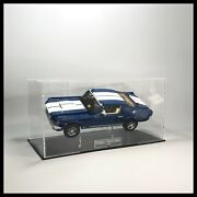 Acrylic Display Case With Internal Stand For Lego Ford Mustang Model 10265