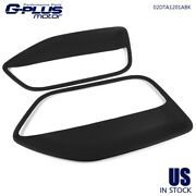 Set Of 2 Door Panel Insert Cards Cover Fit For Mustang 2005 2006 2007 2008 2009