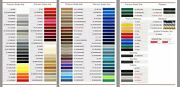 5/16 X 150and039 Roll Of Auto Truck Pinstripe Discontinued Colors