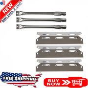 Bbq Gas Grill Heat Plates Burners Stainless Steel Kit For Kenmore Tent Shield
