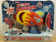 Schylling Atomic Ray Gun Tin Toy Friction Powered Space Toy Brand New Nib A5