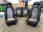 2001-2004 Ford Mustang Cobra Front Rear Driver Passenger Seat Leather/suede