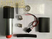 255lph Center Inlet High Performance Efi Fuel Pump And Kit Replaces Gss340