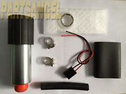 New 12v 255lph High Performance Fuel Pump With Install Kit Replacement Gss341
