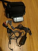 Sony Handycam Dcr-sx40 Flash Memory Camcorder And Accs. Works