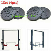 4pcs/set Round Heavy Duty Car Truck Post Lift Arm Pads Pinch Weld Frame Rubbe