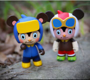 Classic Chinese Cartoon Shunk Beta Soft Plastic Collectible Model Toy