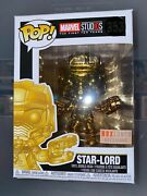 2018 Funko Pop Box Lunch Exclusive Marvel Good Chrome Star-lord 353