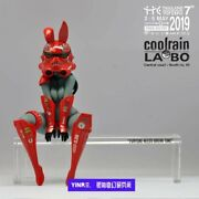 Coolrain Labo Bunny Girl Red Ver. 100 Limited Edition Collectible Figure Stock