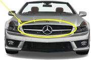 🔥genuine Grille Assembly For Mercedes-benz R230 Sl-class Sl550 Sl63 2011-2012🔥