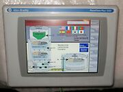 Allen Bradley Panelview Plus 6 1000 2711p-t10c4d9 2016 Very Nice Used Tested