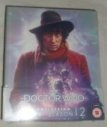 Bbc Dr Who The Collection Season 12 Blu-ray Box Set New Still Sealed