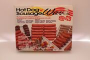Microwave Hot Dogand039n Sausage Wave Cooking Rack And Drip Tray By As Seen On Tv