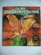 J.r.r. Tolkien 1988 Calendar Ted Nasmith Lord Of The Rings 50th Anniversary