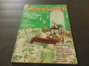 House And Garden Jul 1973 All About Sharing Party Menus Wine And Food  Id10028