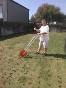Amick Rollaerator Hand Propelled Coring Lawn Aerator A Must-have For Best Lawn