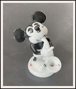 ⭐ Mickey Mouse Rosenthal Saxophone Porcelain Figurine - 1932 - Disneyana.it ⭐
