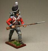 Painted Tin Toy Soldier Private Grenadier Regiment Of The Foot Guard 2 54mm