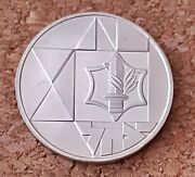 Israel Silver Coin 1983 2is Proof Valour Israel Defense Forces 37mm 28.8gr