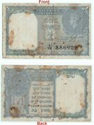 1944 C.e. Jones Signed 1 One Rs Banknote George Vi King Collectible. G5-57