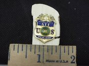 U.s. Department Of Justice Atf Special Agent Mini Badge Pin Style 34