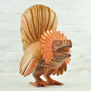 Rooster Alebrije Oaxacan Wood Carving A2000   Magia Mexica