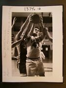 Glossy Press Photo P J Matson Of Westboro Basketball And T J Green Algonquins