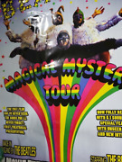 Beatles Magical Mystery Tour Re-release Movie Poster- Apple Films 2012 -rare