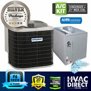 4 Ton 14 Seer Airquest-heil By Carrier Air Conditioning Condenser + 21 W Coil