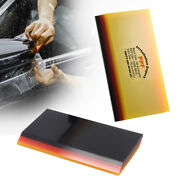 Car Ppf Install Squeegee, 3-ply Tpu Protective Paint Film Wrapping Scraper 2 Pcs