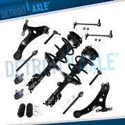 Front Strut Lower Control Arm Tie Rod Kit For 2008 2009 2010 2011 Nissan Rogue