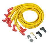 10841 Accel Spark Plug Wires 300+ Ferro-spiral Universal 90 Boots 10.8mm Yellow