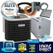3.5 Ton 14 Seer Airquest-heil By Carrier Ac Condenser + Coil System Install Kit