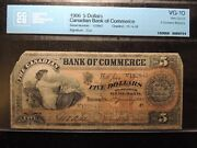 1906 Canadian Bank Of Commerce 5 Five Dollars 75-14-08 Rarest Issue No O/p