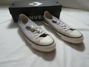 Ladies Converse Ctas Ox Gray Ombre Shoes Size 10 New With Box