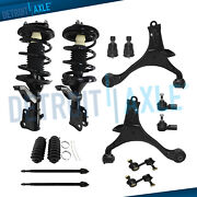 14pc Front Spring Strut Lower Control Arm Suspension For 01-05 Honda Civic No Si